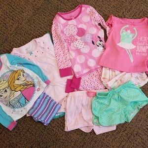 18 to 24 month Girls PJ Bundle